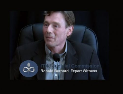 RONALD BERNARD DUTCH EX-BANKER TESTIMONY ON HOW THINGS FUNCTION