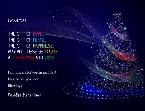 HAPPY CHRISTMAS – FROHE WEIHNACHTEN