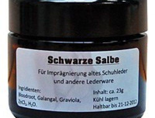BLACK SALVE – EIN WUNDERMITTEL