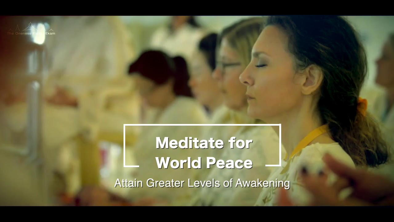 PEACE IS – FRIEDEN IST…EKAM WORLD PEACE FESTIVAL – THE VISION
