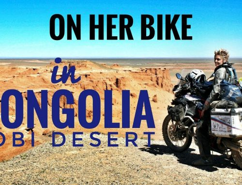 SOLO TRAVELLING – ONE WOMAN – ONE BMW-BIKE