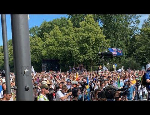 BERLIN BRAVO! PROTEST CORONA & UNSINN
