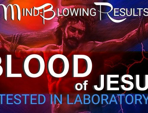 The Blood Of Jesus Tested In Laboratory